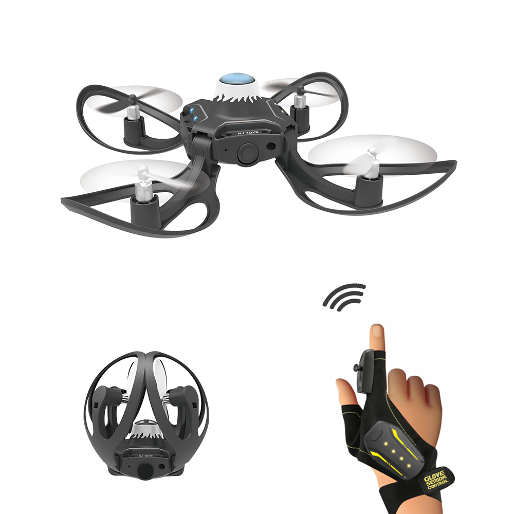 W606-16 2.4G RC Drone Quadcopter Gesture Sensing Control dron Altitude Hold Remote Helicopter Toys