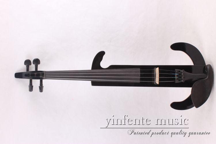 Electric viola 16 black color  new High quality 4 strings   have  viola bow  viola case handmade new solid maple wood brown acoustic violin violino 4 4 electric violin case bow included