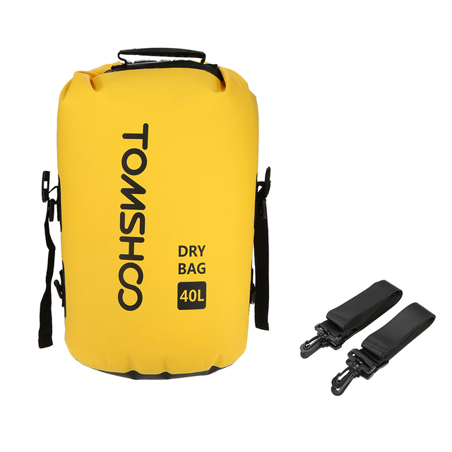 7afd17036a23 TOMSHOO 40L Outdoor Waterproof Dry Bag Sack Storage Bag Cycling Backpack  Swimming Bag for Trave Rafting Boating Kayaking Camping