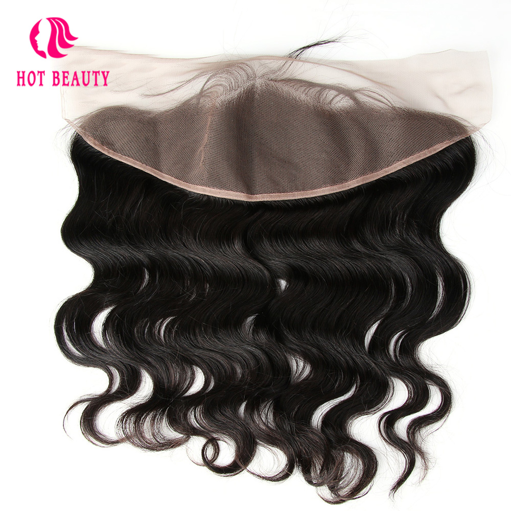 Hot Beauty Hair Peruvian Body Wave Free Part Remy Hair Ear to Ear 13 4 Lace