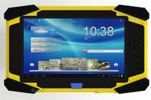 """7 """"Droproof противоударный прочный Android водонепроницаемый tablet PC Мобильного телефона Считыватель Отпечатков Пальцев 1D Инфракрасный Лазерный Сканер Штрих-Кода RFID"""