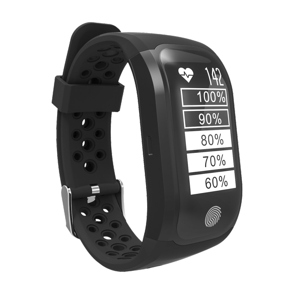 2018 New GPS Tracker Smart Bracelet S908 Bluetooth Smart Wristband Heart Rate Sleep Monitor Pedometer Smart Band For Android IOS