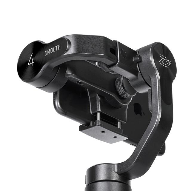 Estabilizadores de mano ZHIYUN oficial Smooth 4 3-Axis Phone Gimbals para teléfonos inteligentes iPhone/Samsung/Huawei/Xiaomi/cámara de acción
