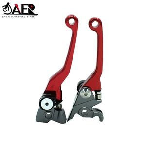 Image 2 - JAER CNC Foldable Pivot Clutch Brake Lever For Suzuki RMZ250 2007 2018 RMZ4502005 2018 RMZ250 2004