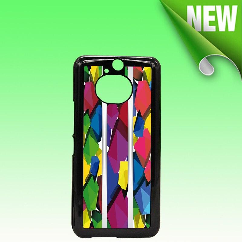 Wtsfwf DIY hard PC 2D Sublimation blank Case 2D Sublimation Case for HTC ONE M9 Plus with Aluminum Inserts