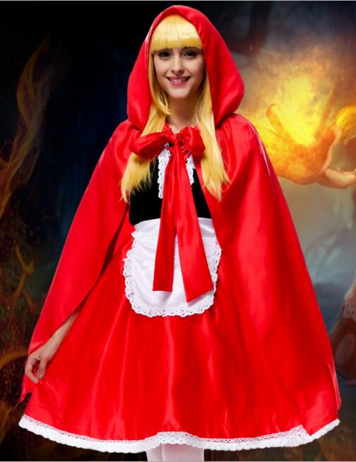 New little red riding hood costume font b anime b font font b cosplay b font