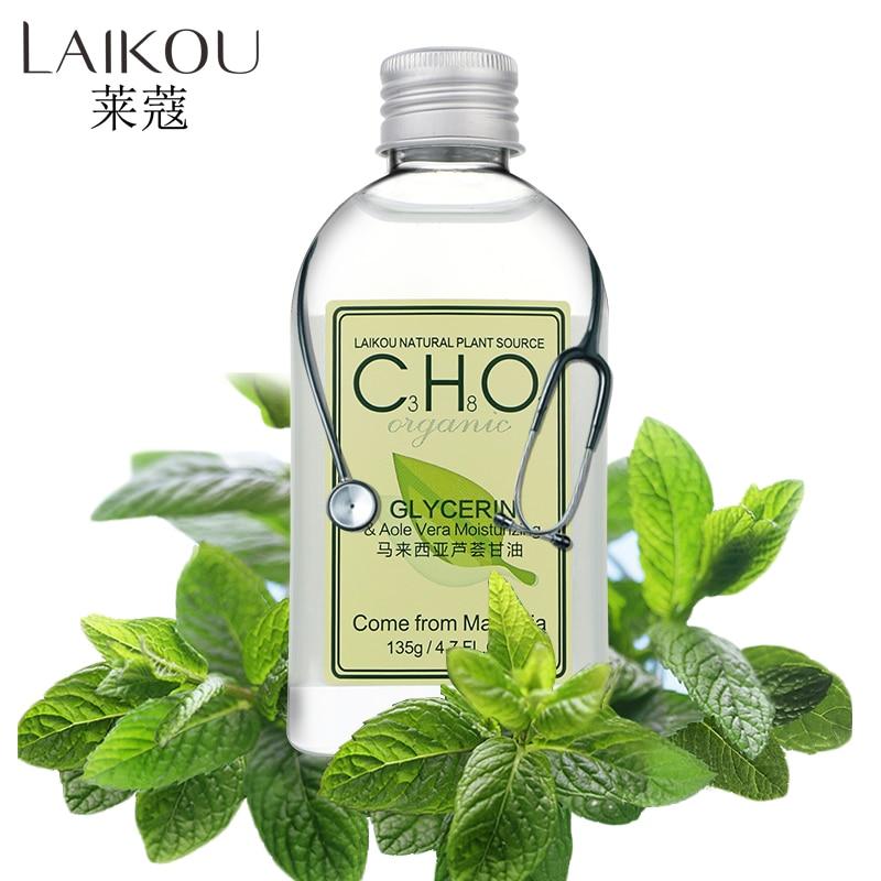 Face Skin Beauty Care Aloe Vera Glycerin Essential Oil 135g Moisturzing Whitening Oil Control Shrink Pores LAIKOU