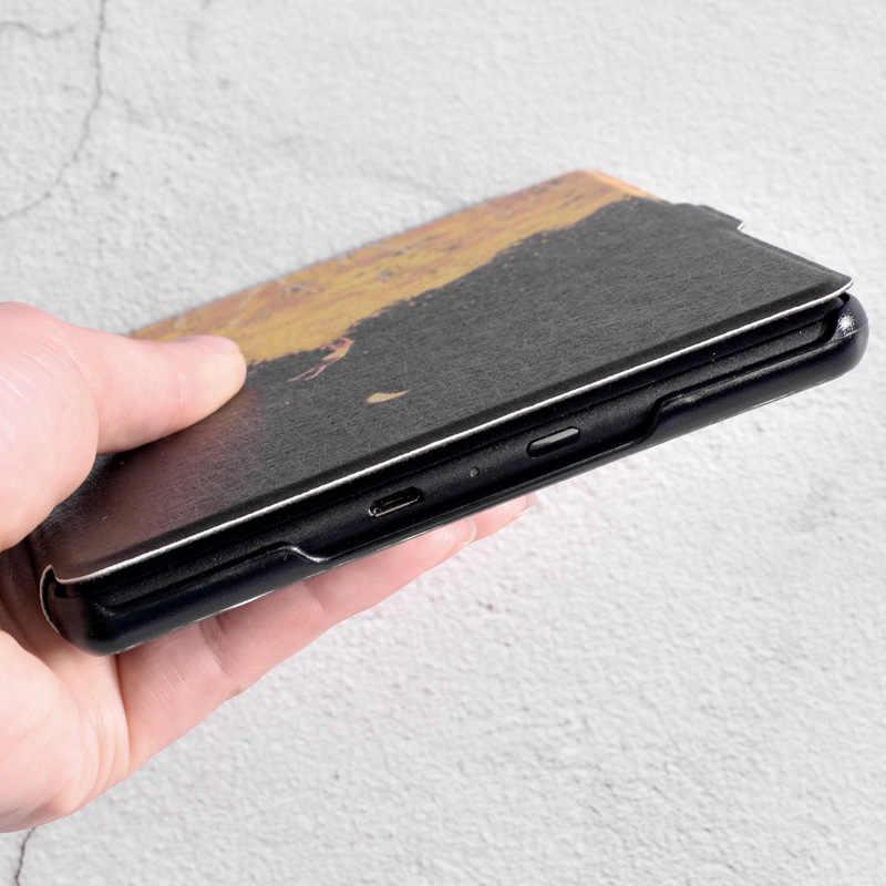 Dla Capa Kindle Paperwhite 4 2018 Case Slim Magnetic Smart e-reader pokrywa dla Kindle Paperwhite 1/2/3 Funda ochronna + rysik