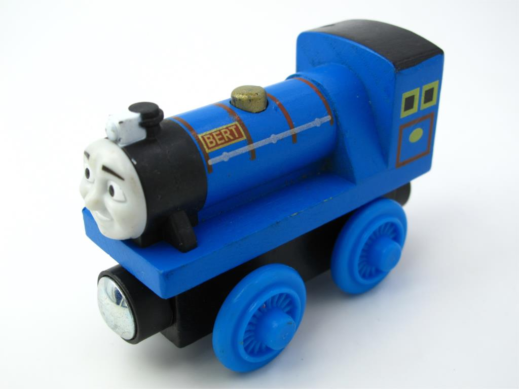 Wooden Thomas Train T010W BERT Thomas And Friends Trackmaster Magnetic Tomas Truck Car Locomotive Engine Railway Toys for Boys