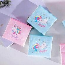BXLYY Единорог одноразовые бумажные полотенца Защита окружающей среды 40 насосные 3 слоя толстой печатной бумаги Baby Shower Kitchen.7z