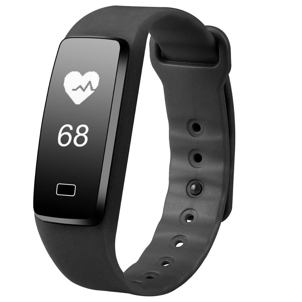 Fitness Tracker Smart Bracelet Passometer Activity Monitor Alarm Heart Rate Blood Pressure Smartband pk xiaomi miband 2