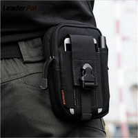 Military Male Multi Function Phone Bag Hanging Bag Chest Package Girl New Male Waist Pack Nylon