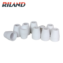 цена RILAND Plasma Cutting Machine Spare Parts Torch Consumables PT31  40A Electrode Nozzle Shield Swirl Ring Ceramic Wear Parts CUT