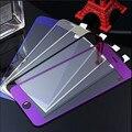 Soznoc NOVO 5 cor Vidro Temperado LCD Tampa Guarda Liga Colorido para iPhone4/4S/5/5S Espelho chapeamento protectorfilm tela