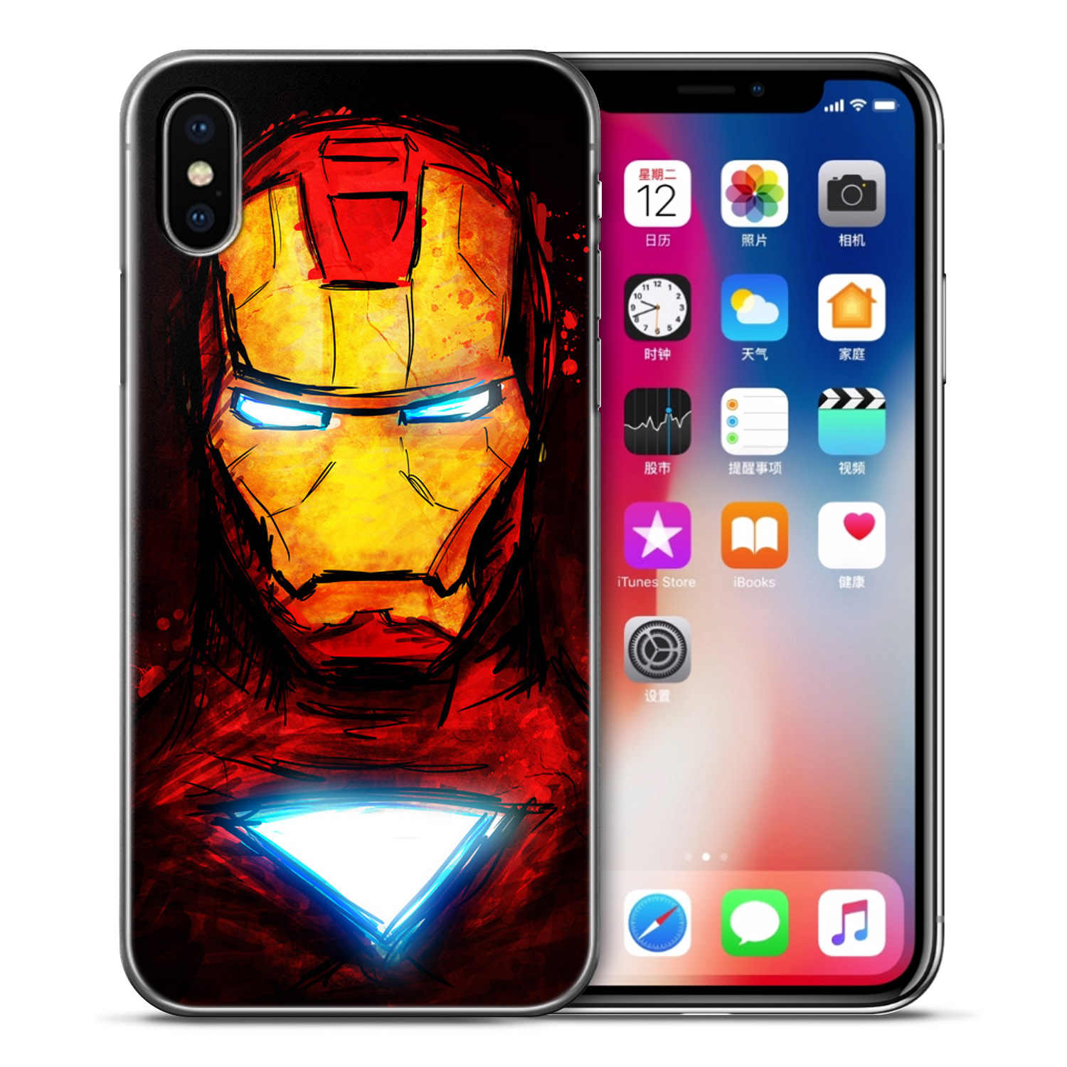 0131ac0c0b2 ... Suicide Squad The Avengers Soft TPU Silicone Cover For iPhone 6 6s 7 8  Plus Case ...