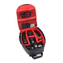 Горячая Мода водостойкая фото цифровая DSLR камера Сумка абсолютно новая фотография камера видеосумка малая SLR Mochila камера + дождевик
