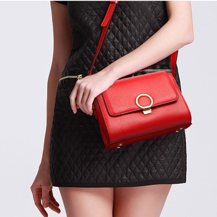 2018 New Genuine Leather Fashion Women Handbags High Quality Ladies Shoulder Bags Female Girl Flap Brand Luxury Crossbody Bag hanup new high quality women clutch bag fashion pu leather handbags flap shoulder bag ladies messenger bags crossbody purse