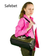 Safebet Professional Waterproof Swimming Bag Cylindrical Travel Sports Outdoor Handbag Luggage Shoulder Bag 19*39cm