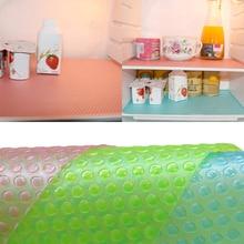 Antibacterial Antifouling Mildew Moisture Waterproof Pad Refrigerator Mats Fridge Fruits Fresh Table Placemats Refrigerator Pad