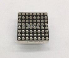 LED Nokta matris ekran 8x8 1.9mm 20*20 MM Kırmızı ve yeşil Ortak Katot/Ortak Anot LED ekran 788AHG/788BHG
