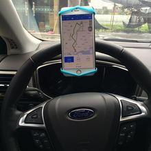 Многофункциональная красочная подставка для мобильного телефона и держатель, зеркало заднего вида, руль, силиконовый держатель для телефона для Iphone7 samsung S8