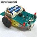 D2-1 DIY Комплект Интеллектуальный Отслеживания Автомобильный Комплект D2-1 Патрульная машина Частей Электронные Производство DIY Умный Автомобиль DIY Электронный Пакет