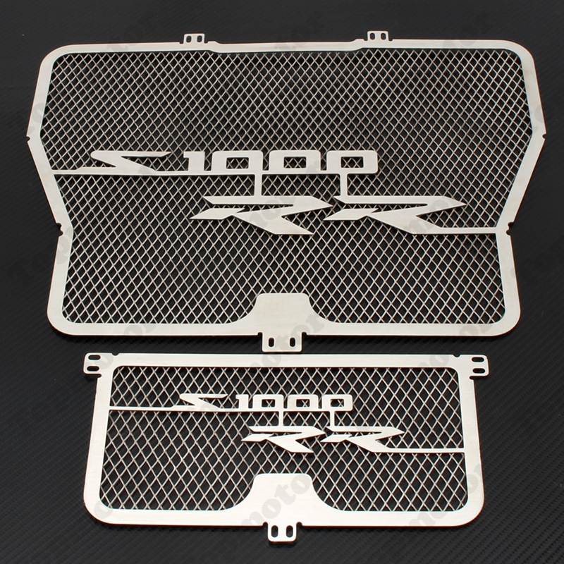 Motorcycle Radiator Grille Oil Cooler Guard Cover Protector For BMW HP4 S1000 RR S1000R arashi radiator grill oil cooler grille guard protector protective cover for bmw s1000rr s1000xr s1000r hp4