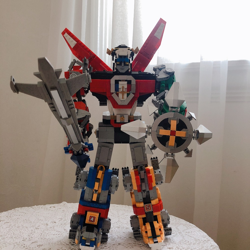 Lepin 16057 2600Pcs Defender of the Universe Figure Voltron Set Compatible 21311 Model Building Kits Blocks Bricks Boy Toys Gift цена и фото