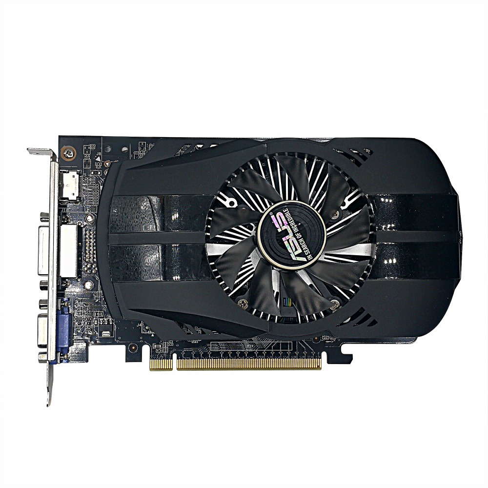 Used,original ASUS GTX750TI-FML-OC-2GD5 Graphics Card,good condition,100% tested good! msp301n used in good condition
