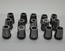 15 unids/set ER25 (2-16mm), Superando 0.1mm Precision Primavera Collet para CNC Herramienta de Torno Fresadora y el eje del motor
