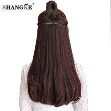 "SHANGKE 24"" 180g Clip In Hair Extension Natural Fake Hair"