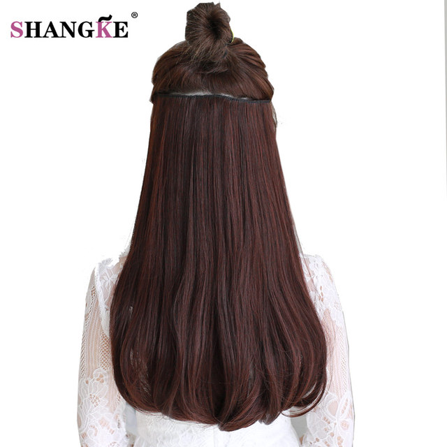 Shangke 24 180g Clip In Hair Extension Natural Fake Hair Pieces