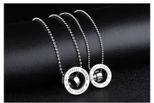 Мужское ожерелье цепочка белого кубического серебряного цвета