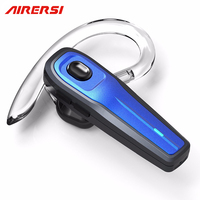 Newest Mini Wireless Bluetooth Earphone HD Mic Handsfree Noise Reduction Bluetooth Headset With Mute Switch For
