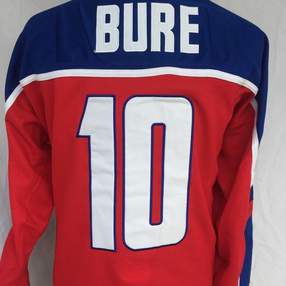 DUEWEER Mens Vintage Alex Kovalev 2002 Team Russia Hockey Jerseys Cheap Red  27 Alex Kovalev Stitched Hockey Shirts M XXXL-in Hockey Jerseys from Sports  ... 180d8eed4