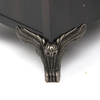 12pcs Set Fittings Furniture Vintage Drawer Wood Box Owl Pattern Corner Protector Decorative Feet Leg Decorative