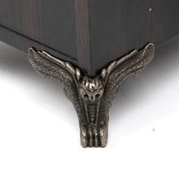 12pcs Set Fittings Furniture Vintage Drawer Wood Box Owl Pattern Corner Protector Decorative Feet Leg Decorative