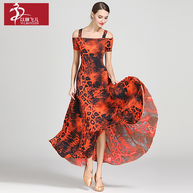 New Ballroom Dance Competition Dress Dance Ballroom Waltz Dresses Standard Dance Dress Women Ballroom Dress  S9040