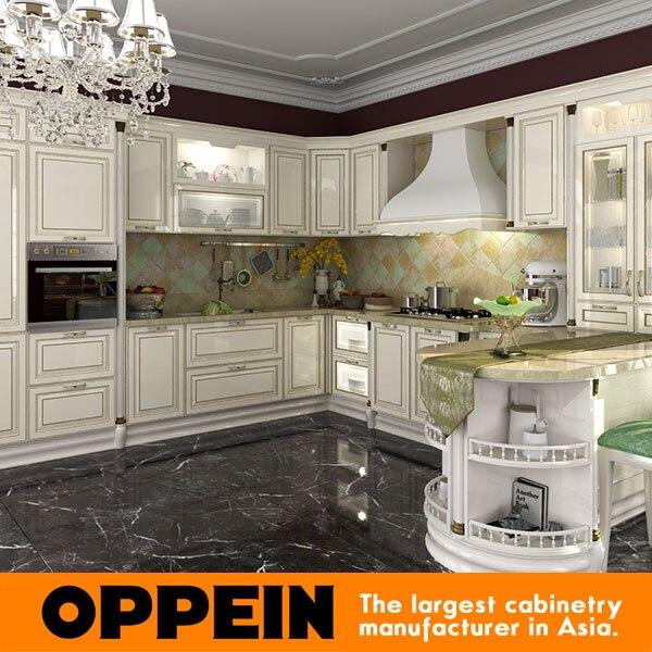 Australia Design Customied Solid Wood Kitchen Cabinet OP14-024