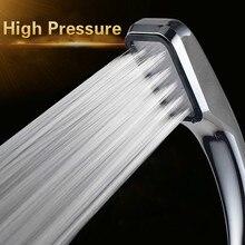 Качественная насадка для душа для ванной с защитой от дождя и воды с хромированной ABS насадкой для душа с высоким давлением