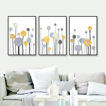 Wall Art Canvas Painting Flower Poster Picturtes Nordic Style No Frame For Living Room Home Restaurant Decor Pastoral Picture