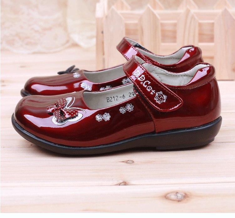 Nieuwe meisjes kinderen leren schoenen vlinder student school prinses - Kinderschoenen - Foto 2
