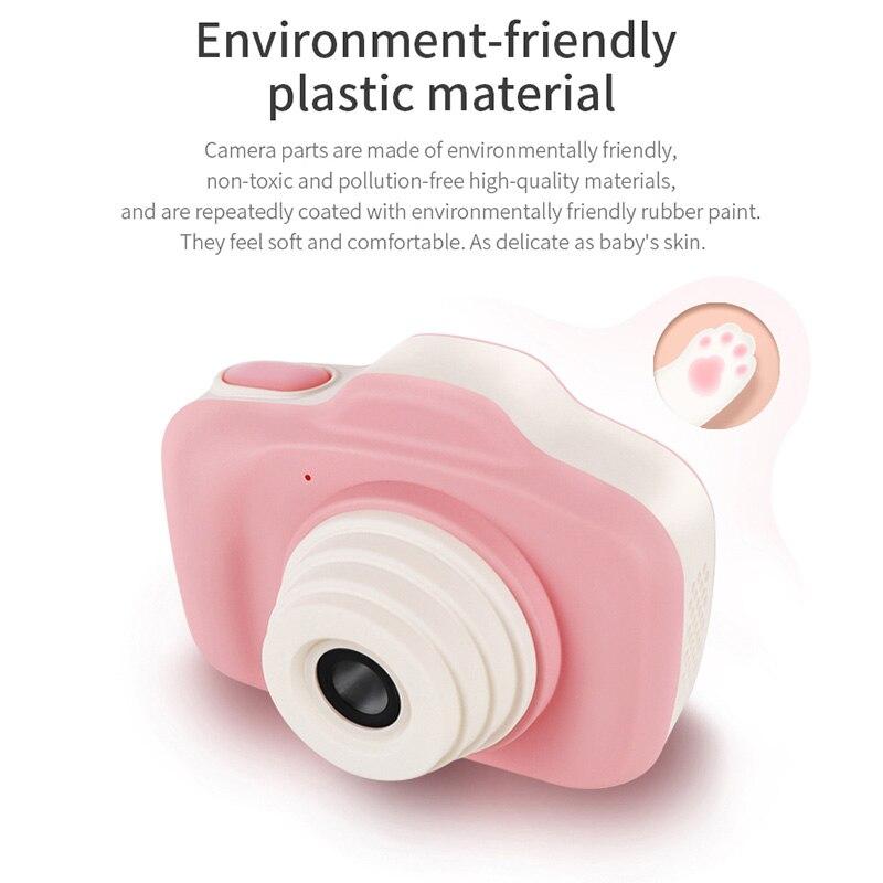 Caméra antichoc pour enfants avec caméscope à double objectif pour enfants en plein air S7JN - 2