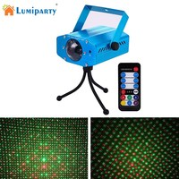 LumiParty Remote RGB LED Water Wave Ripple Effect Stage Lighting Laser Projector Ocean Wave Night Light
