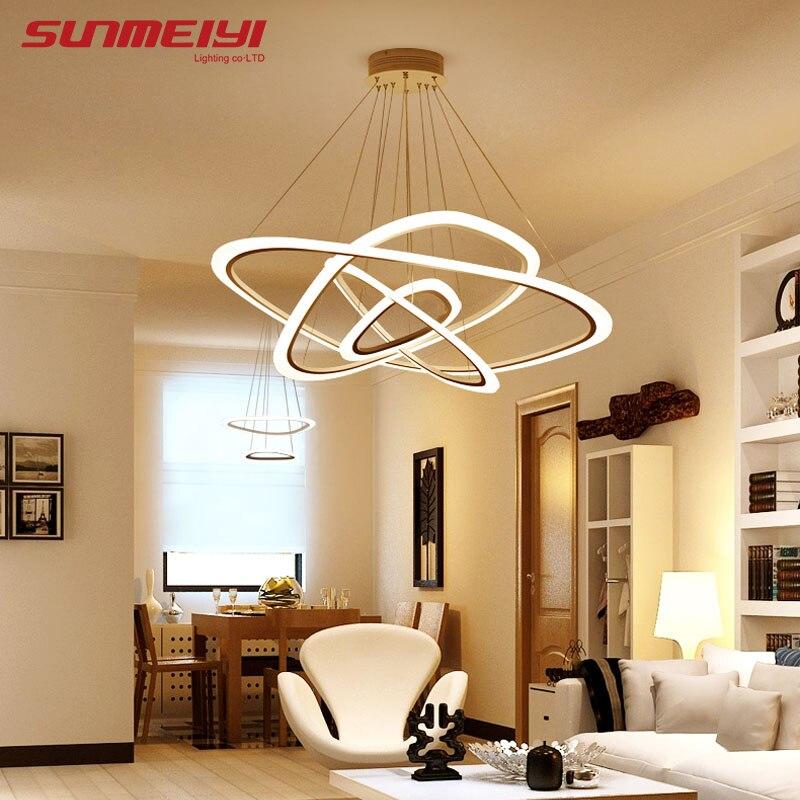 LED Lampes Suspendues Suspendus Lampe lamparas de techo colgante moderna Pour Loft Lampe Luminaire lustre pendente salle À Manger Lumières