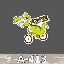 Bevle A-413 Monster Wasserdicht Mode Kühle DIY Aufkleber Für Laptop Gepäck Bike Refit Skateboard Auto Graffiti Cartoon Aufkleber