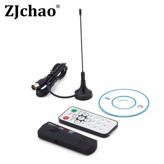 Mini Digital USB TV Stick FM+DAB DVB-T RTL2832U+R820T Support SDR Tuner Receiver with Remote Controller