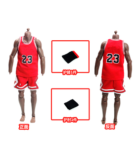 Image 2 - 1/6 مقياس الذكور الرياضة البدلة كرة السلة ستار الملابس مجموعة الرجال جيرسي لمدة 12 بوصة الذكور عمل الشكل دمية