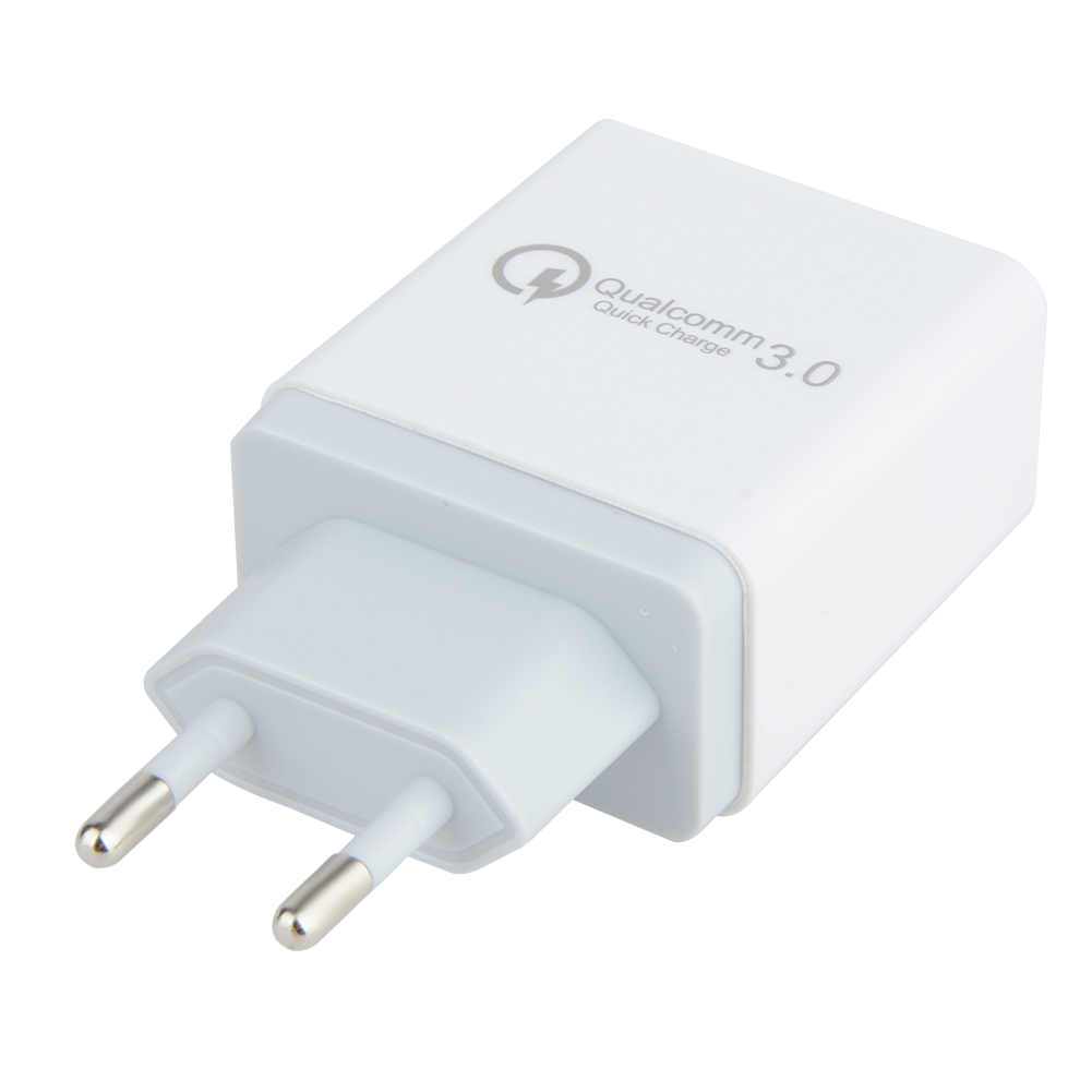 3 Ports Universal Travel USB Wall Charger 18W Portable Quick Charge QC 3.0 Fast Charger Wall Adapter Compatible For iPhone iPad