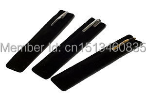 3.5*17cm velvet jewelry pouch velvet pouch pen pouch velvet recording pen pouch spoon bag customize wholesale